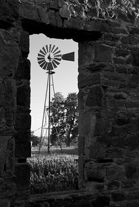 Windmill in Pontotoc, Texas