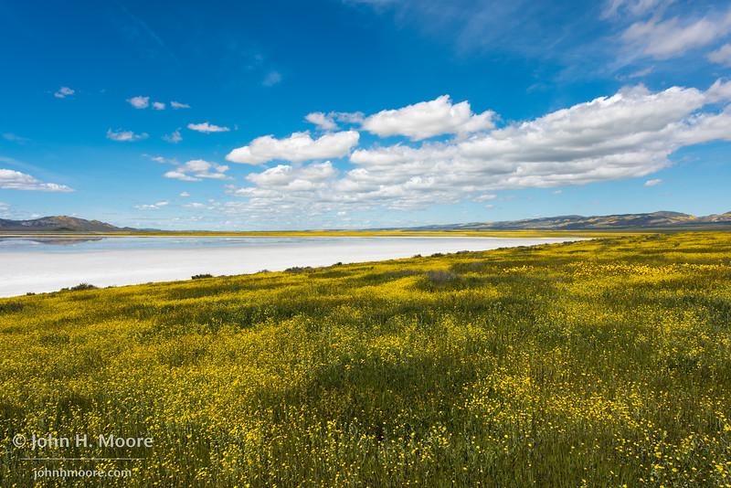 Soda Lake at Carrizo Plain National Monument