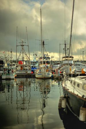Boat reflections, Fishermen's Terminal