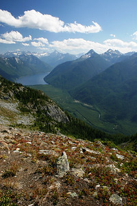 Chilliwack Lake and River from Williams Ridge