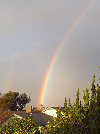 Double Rainbow - 22 Jan 2010