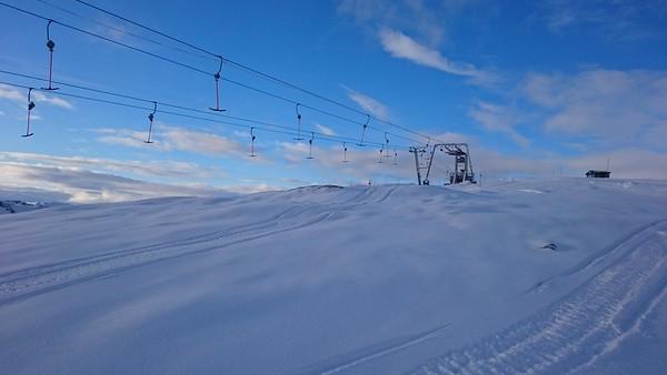 Toppen av Slettafjellet