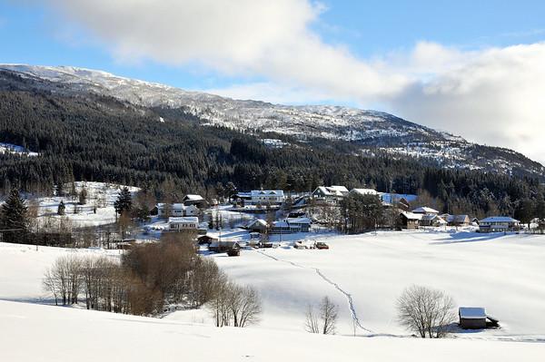 Helland.På ski i Herresåsen  03.03.2010