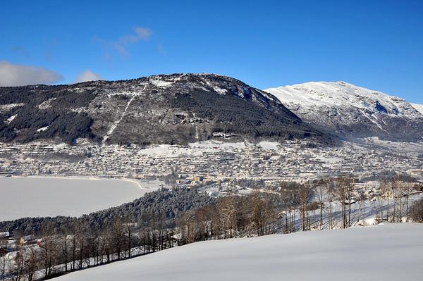Voss..På ski i Herresåsen  03.03.2010