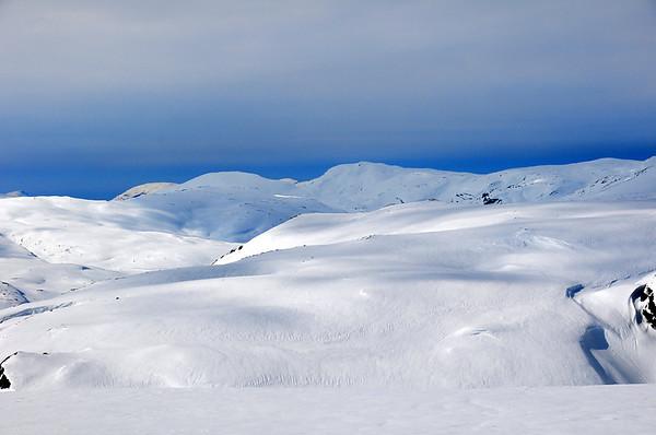 """Det skyar litt til utover dagen """"Palmelaurdag""""...men eit fantastisk skiføre.."""