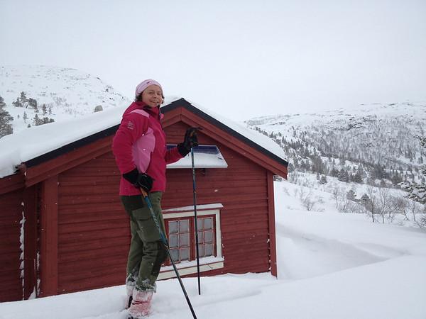 Vargar - hytta på Bordalen..