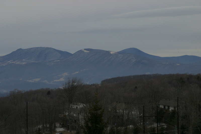 This is a view of the mountains to the north of Beech, taken from a spot along Highway 184 in the town of Beech Mountain.