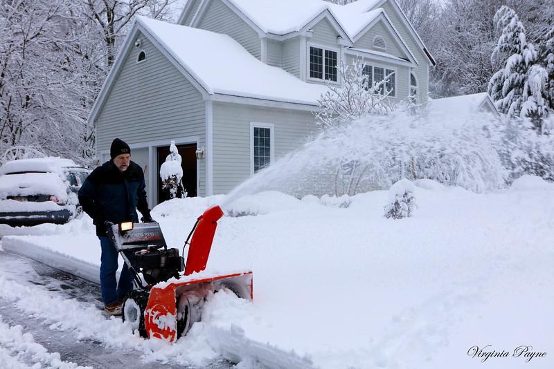 Rod - the snow blower...