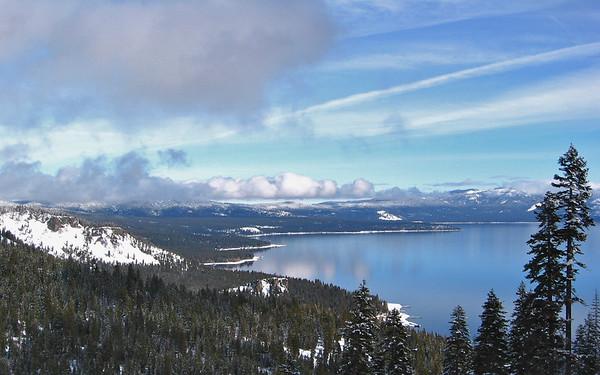 Lake Tahoe & Virginia Winter