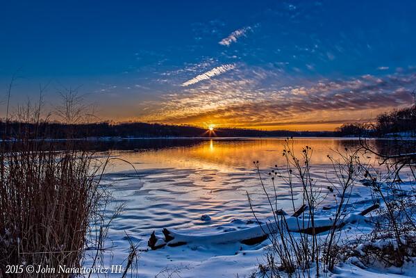 Winter's Sunset