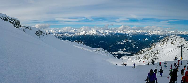 Horstman Glacier 04 pan (from Blackcomb Glacier hike)