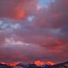 Truchas Peaks Winter Sunset