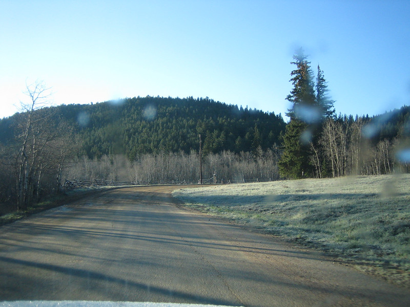 May 8, 2007<br /> No snow. No elk.