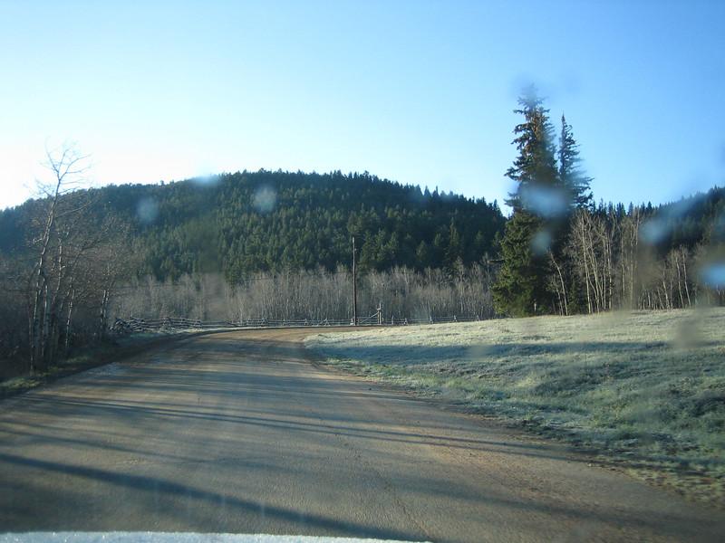 May 8, 2007<br /> No snow. No elk.