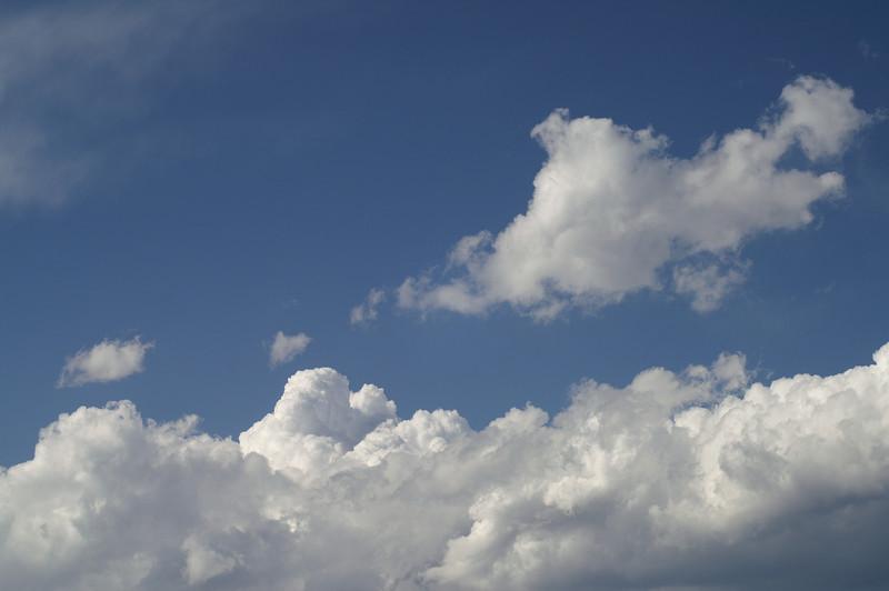 Light dappling clouds