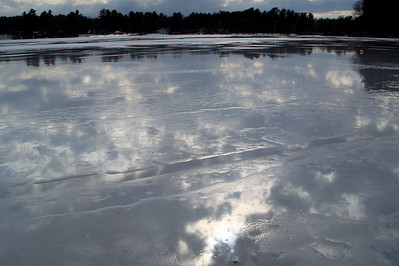 water on ice