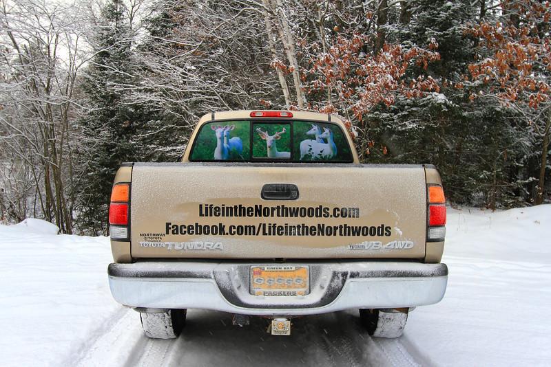 Lifeinthenorthwoods.com  Truck