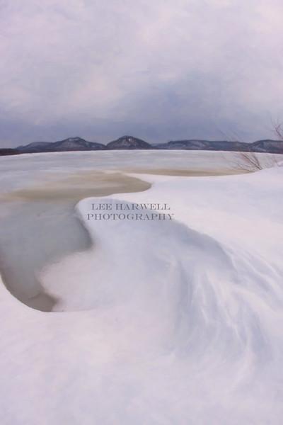 Winter at Trempealeau Mountain II