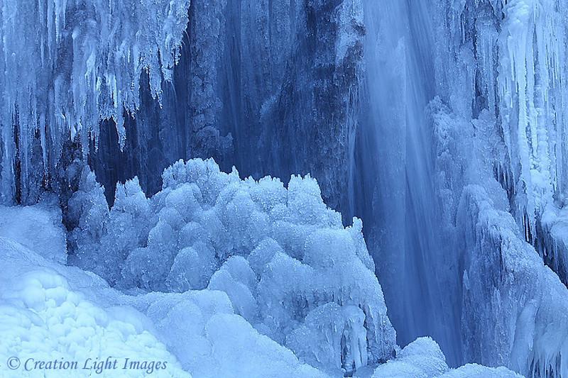 Frozen Cascade Falls