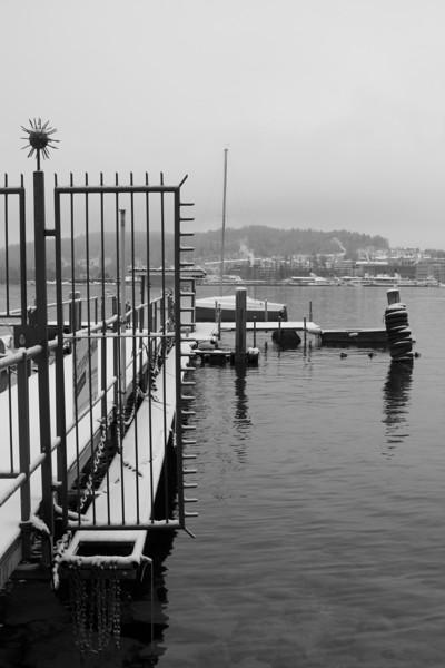 Switzerland, Lucerne, Pier SNM