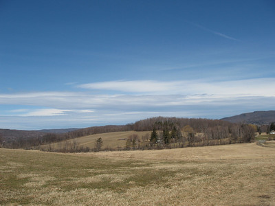 High on the hill in North Bennington, Vermont