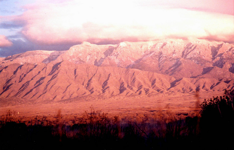 Sandia Mountains Snow Sandias Sunset Snow l Jpg