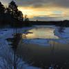 Winter Sunrise on the River  2