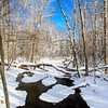 Allequash Creek in Winter