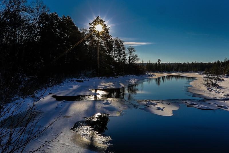 Winter Sunrise Sunburst   1