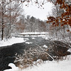 """""""  Dressed For Winter  """"  Manitowish river Boulder Jct. Wisconsin"""