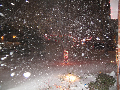 Christmas Eve 2009 Blizzard