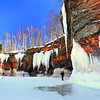 Icicles Galore<br /> Apostle Islands National Lakeshore Ice Caves March 2014
