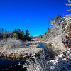 A Fresh Snow  on the River