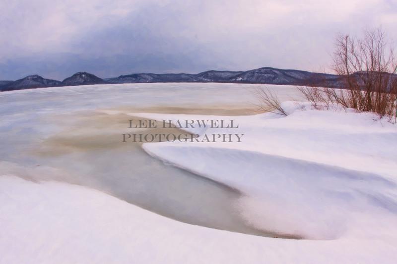 Winter at Trempealeau Mountain