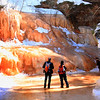 Amber World     Apostle Islands National Lakeshore Ice Caves March 2014