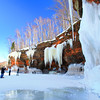 Icicles Galore 2<br /> Apostle Islands National Lakeshore Ice Caves March 2014