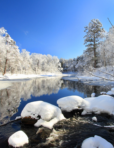Snowy Winter Reflections 4