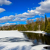 Winter Scene at Little Horsehead Lake 2
