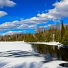 Winter Scene at Little Horsehead Lake 2