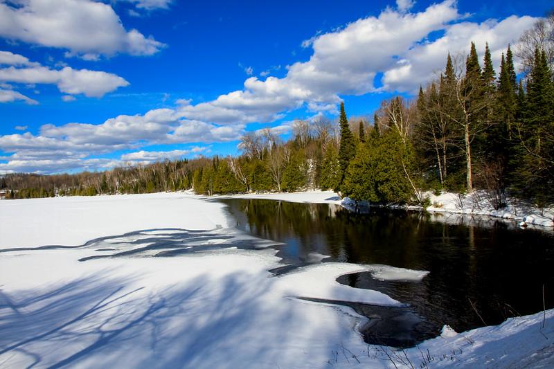 Winter Scene at Little Horsehead Lake