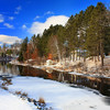 """Winter's Riverside Reflections"""