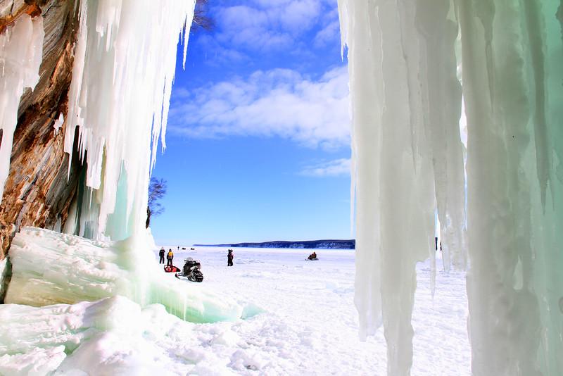 Grand Island Ice Caves 8