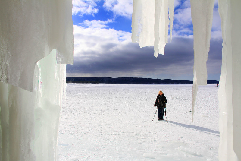 Grand Island Ice Caves 20