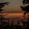 Sunset from Klapache Camp on Wonderland Trail