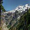 View of Mt Rainier from Aurora Peak