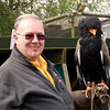 Me holding the Bateleur Eagle