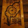 Old Faithful clock