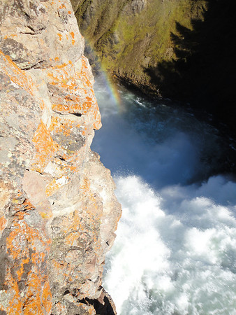 Brink of the Upper Falls - Grand Canyon of Yellowstone