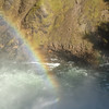 Rainbow in the Upper Falls - Grand Canyon of Yellowstone