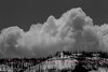 Clouds above Specimen Ridge